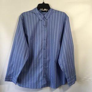 APT 9 essentials brand -plus striped blouse (C22🌺